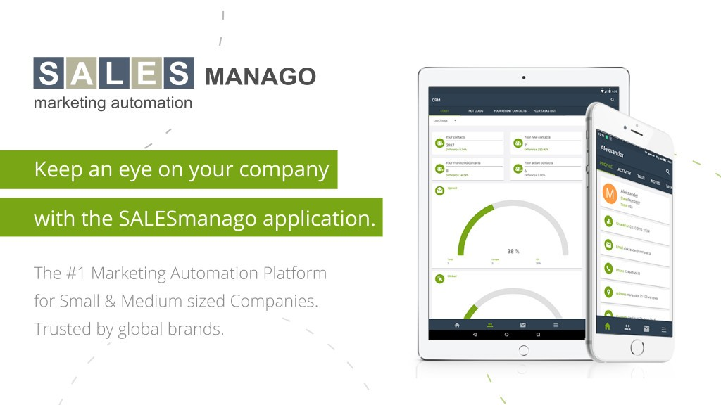SALESmanago Within Your Arm's Reach – Say Hi To Our New App