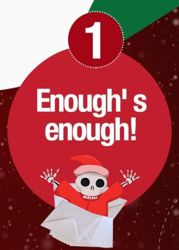 [INFOGRAPHIC] 5 Reasons Why You Shouldn't Send Christmas Wishes… and 5 Ideas About What You Should Send Instead
